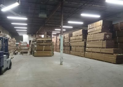 A Ipe in warehouse