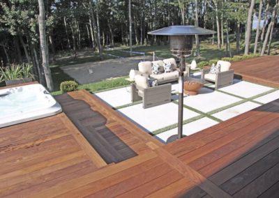 Back yard ipe patio