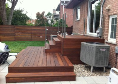 Ipe deck