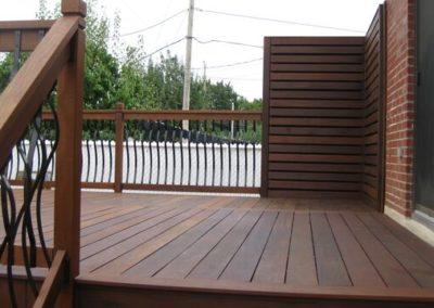 Nice deck in ipe wood