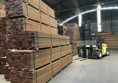 a -Ipe decking boards